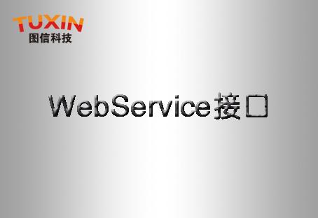 webservice 接口介绍
